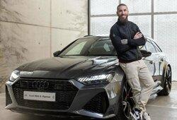 """""""Real"""" futbolininkai išsirinko """"Audi"""" automobilius: pigiausią vairuoja K.Benzema, brangiausią – F.Valverde"""