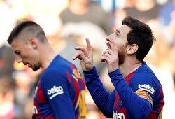 "L.Messi pelnė ""pokerį"", o ""Barcelona"" iškovojo triuškinamą pergalę"