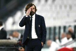 """""""Juventus"""" vadovai įpyko – apsisprendė dėl A.Pirlo likimo"""