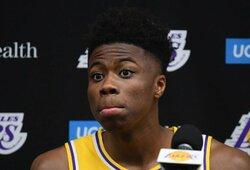 """K.Antetokounmpo lieka """"Lakers"""" komandoje"""