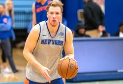 """I.Brazdeikis praleido dar vienas """"Knicks"""" rungtynes"""