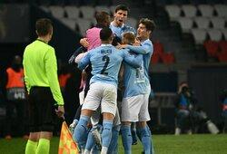 """""""Man City"""" penktą kartą klubo istorijoje tapo """"Premier"""" lygos čempionais"""