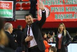 """""""Fenerbahče"""" veda derybas su Turkijos rinktinės treneriu"""