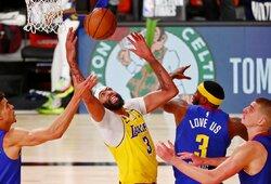 """Vakarų finalo starte – A.Daviso dominavimas ir """"Lakers"""" pergalė"""