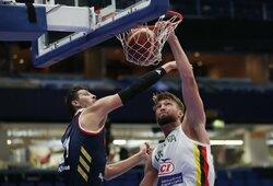 D.Sabonio ir M.Grigonio duetas nulėmė pergalę prieš Rusiją