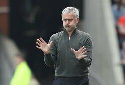 J.Mourinho gresia bauda už parke žaidėjams surengtą treniruotę
