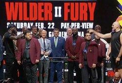 Oficialūs svėrimai: D.Wilderis svėrė daugiausiai per karjerą, T.Fury svoris taip pat buvo kur kas didesnis nei pirmoje kovoje