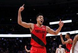 """C.J.McCollumas: """"Trečdalis NBA žaidėjų gyvena nuo atlyginimo iki atlyginimo"""""""