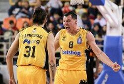 AEK siūlo FIBA Čempionų lygos sezoną užbaigti rugsėjo mėnesį