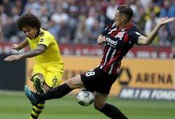 """""""Eintracht"""" 88-ąją minutę išplėšė lygiąsias su """"Borussia"""""""