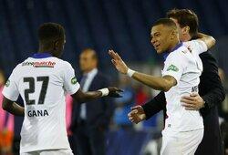PSG klubas po baudinių serijos žengė į Prancūzijos futbolo taurės finalą