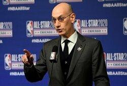 Aiškėja NBA pratęsimo scenarijus: toliau sezoną tęstų 22 komandos