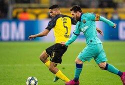 """Čempionų lygos starte: nerealizuotas M.Reuso baudinys, L.Messi sugrįžimas ir """"Borussia"""" bei """"Barcelona"""" lygiosios"""