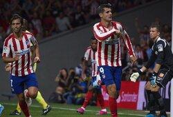 """Ispanijoje – dvi  raudonos kortelės, nerealizuotas baudinys ir """"Atletico"""" pergalę apkartinusi J.Felixo trauma"""