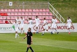 """Lietuvos futbolo A lyga: """"Sūduva"""" iškovojo užtikrintą pergalę"""