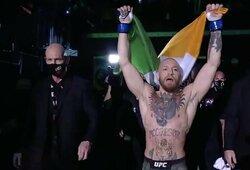 """""""UFC 257"""": C.McGregoras prieš D.Poirier (1 raundas, GYVAI)"""