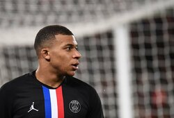 """PSG metė kozirį """"Real"""" klubui kovoje dėl K.Mbappe – nauja sutartis ir įspūdingi skaičiai"""