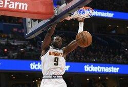 """NBA krizė negąsdina: """"Nuggets"""" puolėjas atsisakys garantuotų beveik 10 mln. dolerių"""