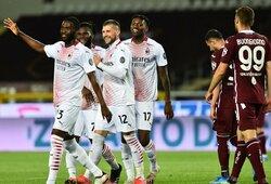 """""""AC Milan"""" vietiniame čempionate varžovams atseikėjo net 7 įvarčius"""