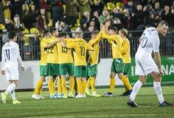 Pirmoji pergalė po beveik pusantrų metų: Lietuva nugalėjo eksperimentine sudėtimi žaidusią Naująją Zelandiją