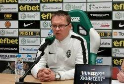 """V.Dambrauskas prieš derbį su CSKA: """"Šios rungtynės čempionato nelaimės"""""""