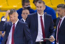 """Labai nusivylęs Š.Jasikevičius: """"Tai kažkas, ko per trenerio karjerą nesu matęs"""""""