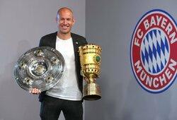 A.Robbenas: apie geriausią trenerį, sprendimą pasitraukti iš futbolo ir ateities planus