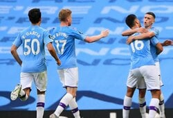 """""""Man City"""" pažemino naujaisiais """"Premier"""" lygos čempionais tapusius """"Liverpool"""" futbolininkus"""