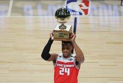 NBA tritaškių konkurso laimėtoją nulėmė paskutinis metimas