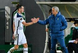 """J.Mourinho apie G.Bale'ą: """"Negaliu minučių duoti už nieką, reikia jas užsidirbti"""""""