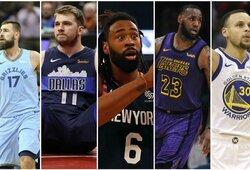 Top 30: vertingiausios NBA komandos
