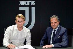 """M.De Ligtas atskleidė, kodėl pasirinko """"Juventus"""""""