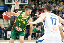 EČ atranka: Lietuva – Čekija (42:47, po 2 kėl., tiesioginė vaizdo transliacija)