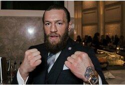 """J.Kavanagh įvertino C.McGregoro galimybes pasirodyti """"UFC 249"""" turnyre"""
