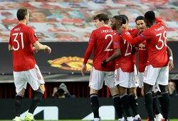 """""""Man Utd"""" užtikrintai žengė į Europos lygos pusfinalį"""