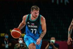 L.Dončičiaus debiutas olimpinėse: 48 taškai ir sutriuškinta Argentina