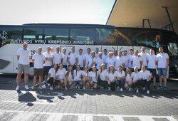 Lietuvos kurčiųjų vyrų ir moterų krepšinio rinktinės išvyko į pasaulio čempionatą