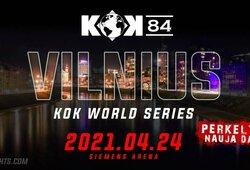 Ketvirtą kartą perkeliamas Vilniuje planuojamas KOK'84 turnyras