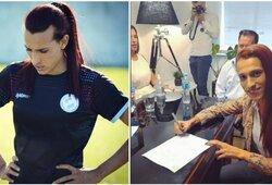 Kilo diskusijų audra: lytį pakeitęs vyras keliasi į elitinę moterų futbolo lygą