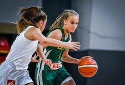 Moterų rinktinės sudėtyje – 13-metė J.V.Jocytė ir Europos vicečempionių treneris