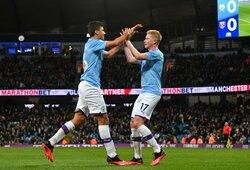 "Pergalę iškovoję ""Manchester City"" įsitvirtino antroje ""Premier"" lygos vietoje"