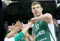 """Du """"Žalgirio"""" talentai – tarp perspektyviausių Eurolygos žaidėjų"""