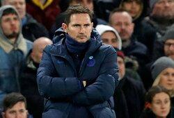 """Pasipiktinimo neslėpęs F.Lampardas: """"H.Maguire'as turėjo būti išvarytas iš aikštės"""""""