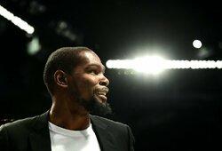 """K.Durantas sureagavo į """"Bulls"""" vadovybės paieškas"""