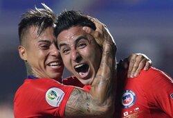 """""""Copa America"""" turnyre – triuškinama Čilės rinktinės pergalė"""