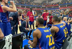 """Š.Jasikevičiaus """"Barcelona"""" antrą kartą šiame sezone įveikė CSKA"""