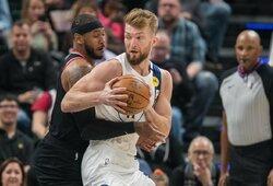 """""""Pacers"""" trenerį savo namuose priėmęs D.Sabonis pasirengęs daugiau mesti tritaškių"""