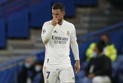 """E.Hazardas atsiprašė """"Real"""" komandos gerbėjų"""
