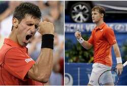 """""""Roland Garros"""" antrasis ratas: R.Berankis – N.Djokovičius (GYVAI)"""