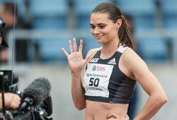 """Kovą su savimi laimėjusi bėgikė A.Šerkšnienė: """"Esu Tokijuje, nes to nusipelniau"""""""
